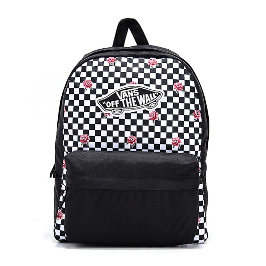 Mochila Vans Realm Rose Checkerboard