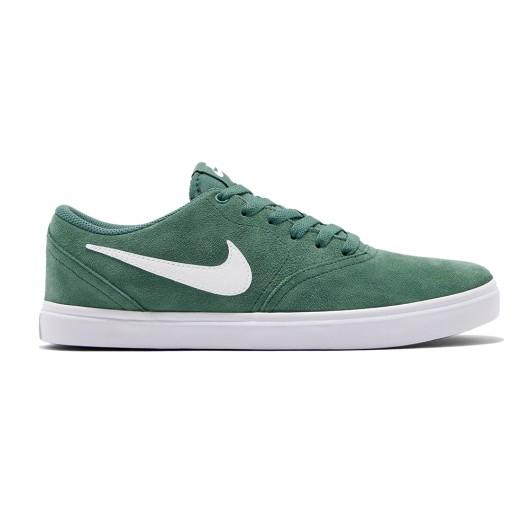 borroso George Bernard ecuación  Zapatillas Nike SB Check Solar Green White - Skateshop online