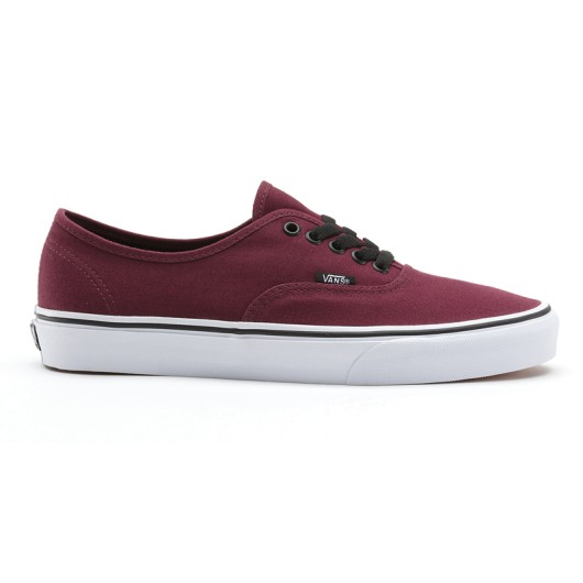 vans authentic granate