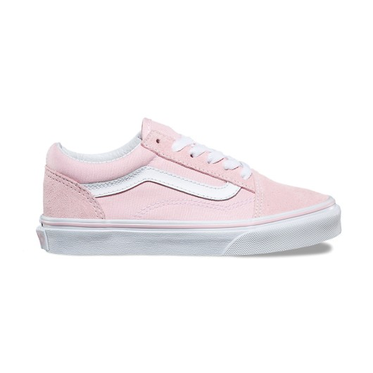 Zapatillas Vans Old Skool Suede Canvas Chalk Pink True White