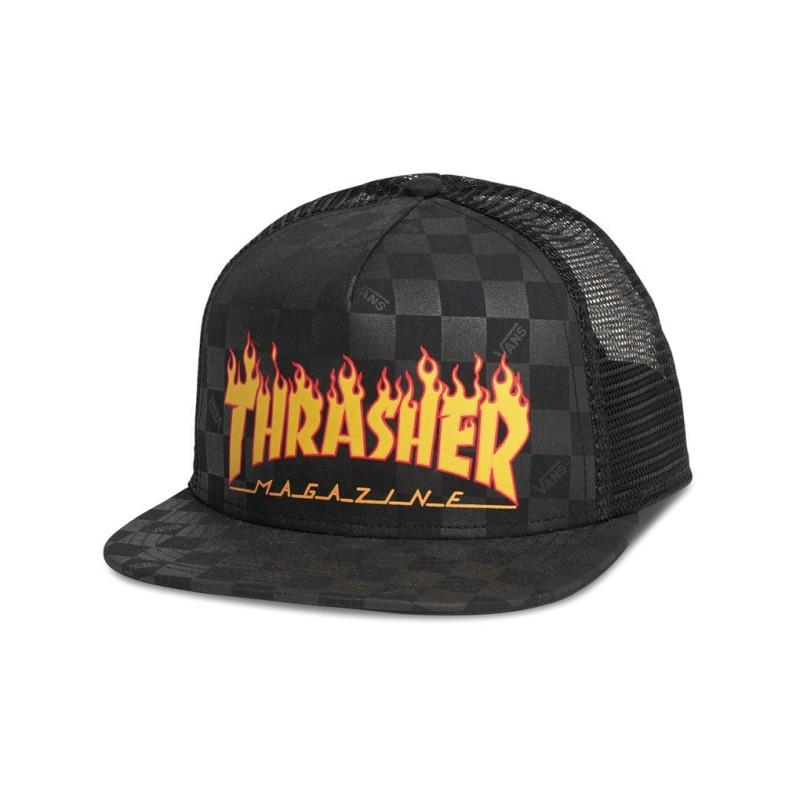 Gorra Vans X Thrasher Flame Black - Tienda online