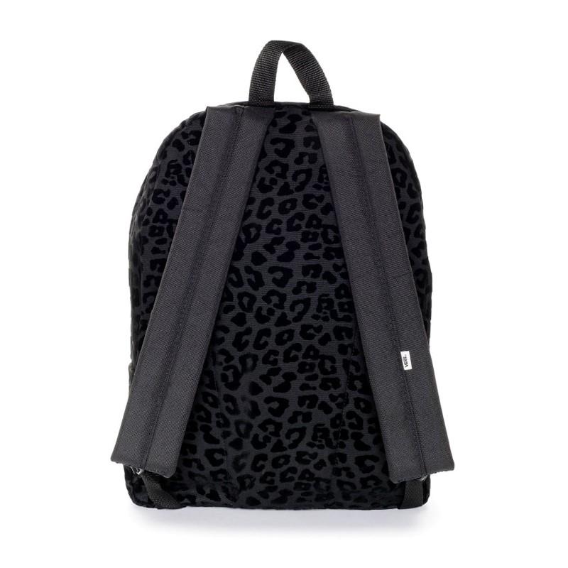 Mochila Vans Realm Leopard Black Black a9828d801fd