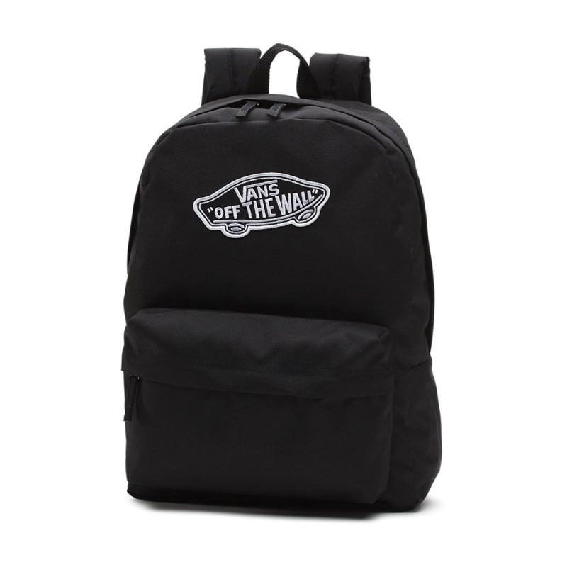 Mochila Vans Realm Backpack Black - Tienda online España bdad6d48eac