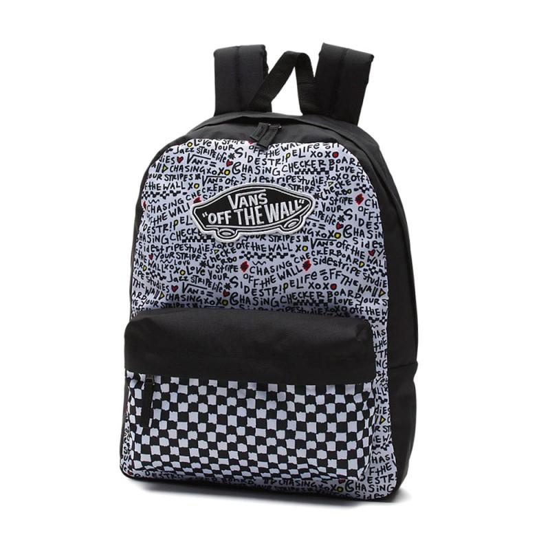 Mochila Vans Realm Black DIY - Tienda Vans online 1154958cfe3