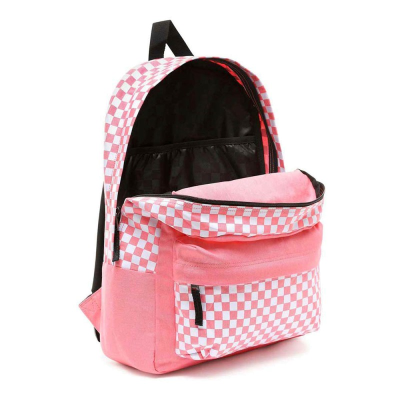 0d24cbbe0e264 Mochila Vans Central Realm Strawberry Pink Backpack