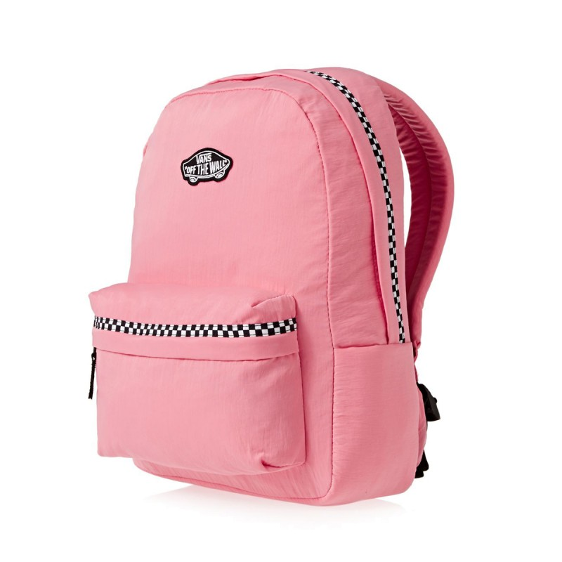 761c2dc005556 Mochila Vans Expedition II Strawberry Pink Microcheck