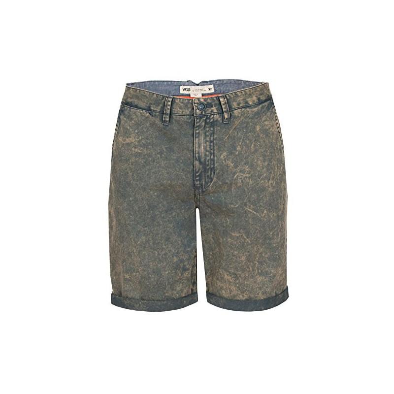 37d694d4c6ee54 Inicio  Pantalones Cortos Vans Excerpt Acid Wash Dark Slate Acid.  31%descuento