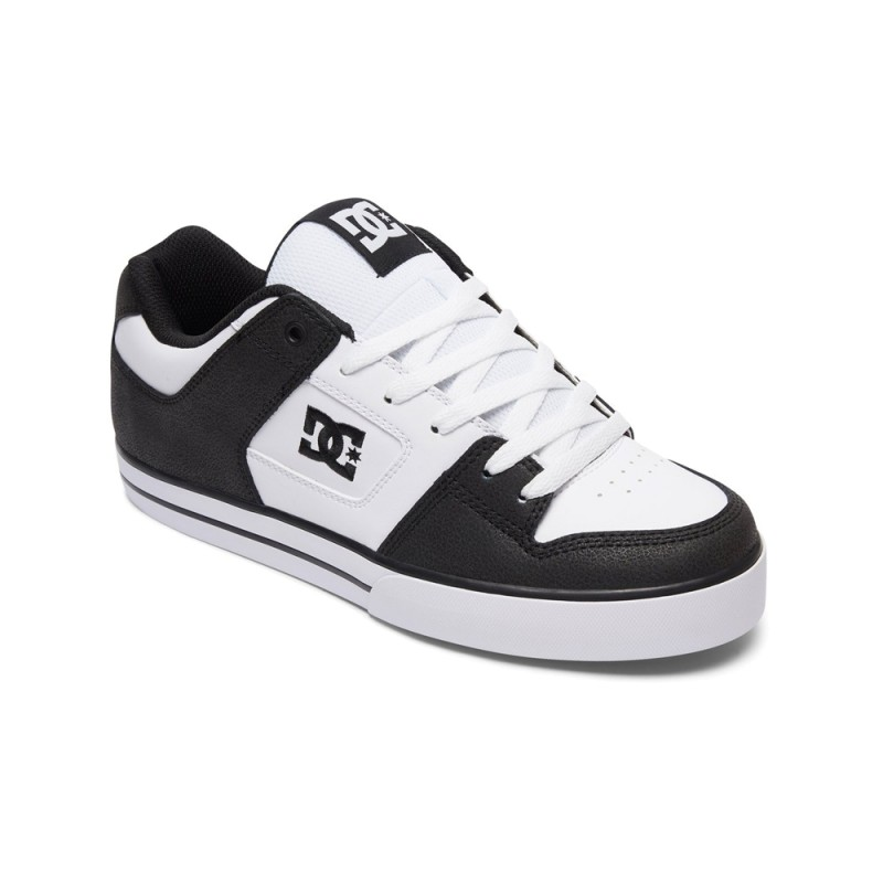 DC Shoes PURE - Zapatillas skate black/white