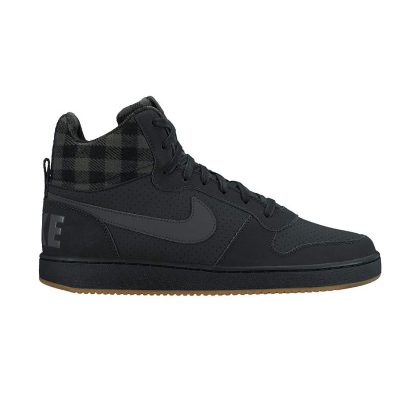 51196ec6b46ee Inicio  Zapatillas Altas Nike Court Borough Mid Premium Black Anthracite  Gum Light Brown. 24%descuento