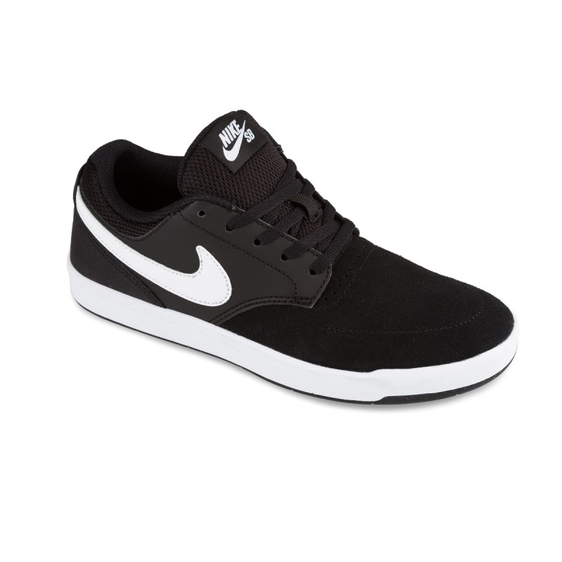new concept efe2a 39a98 Zapatillas Nike SB Fokus Black White