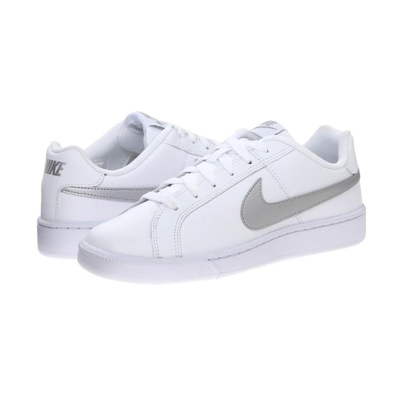 buy popular 822b2 3a3d5 Inicio  Zapatillas Nike Court Royale White Metallic Silver. 23%descuento