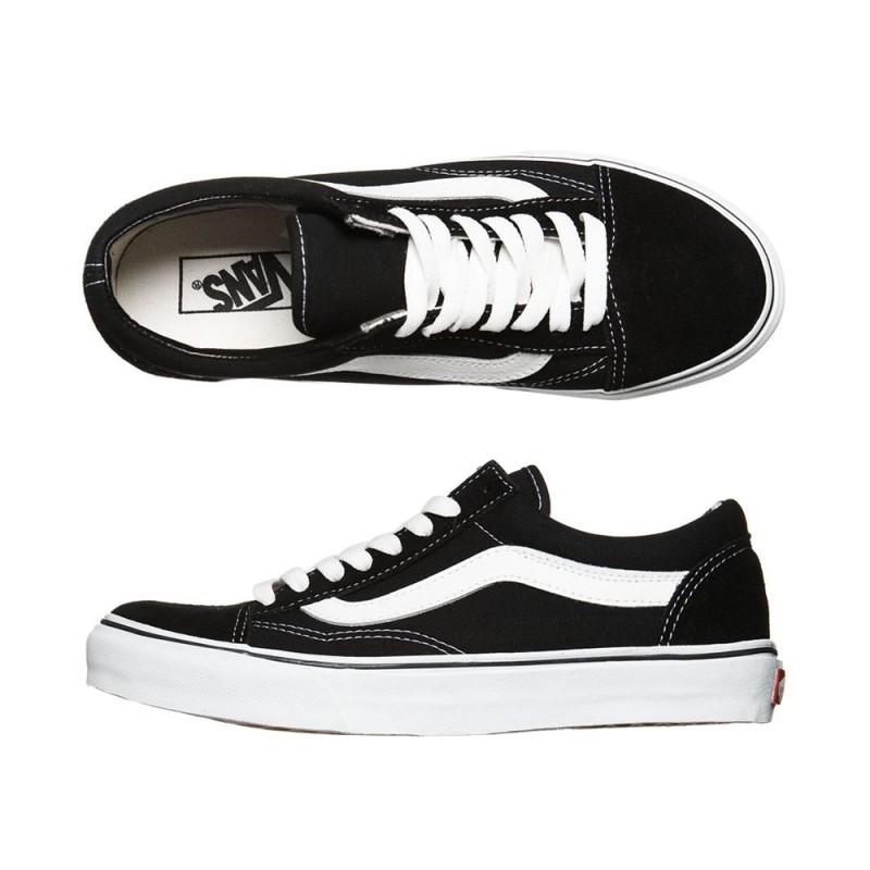 Zapatillas Vans Old Skool Black White - Tienda online 1d05782949c