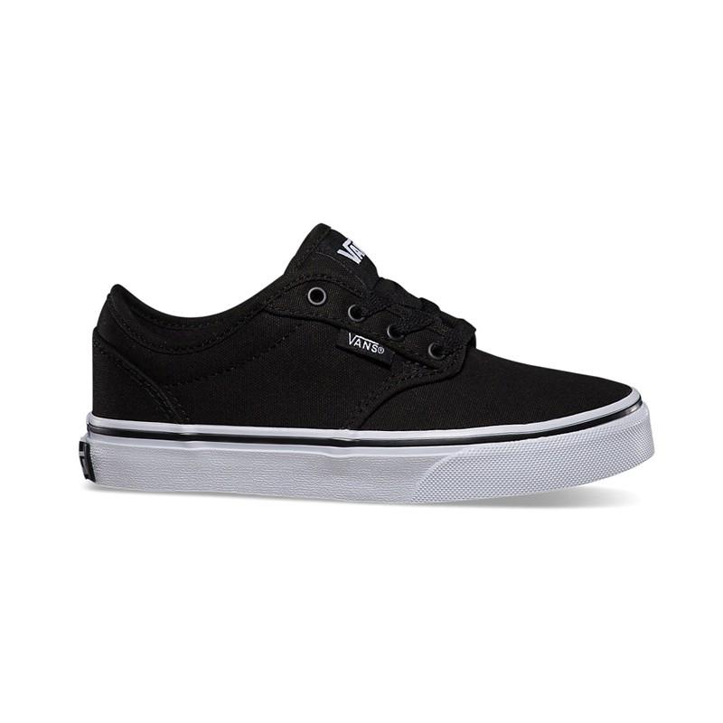 82baf14ad10c0 Zapatillas Vans Atwood Canvas Black White