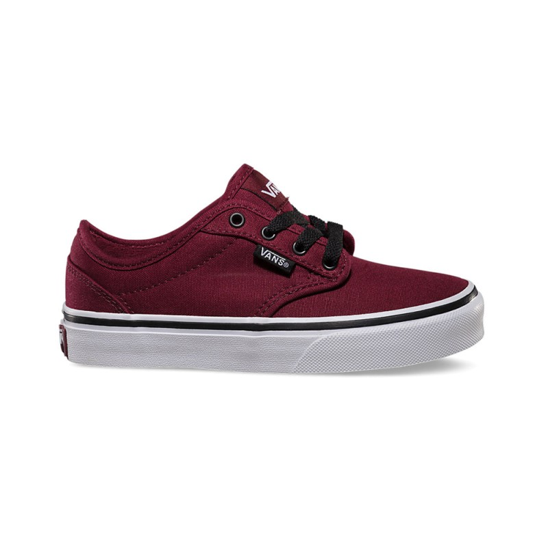 9a67ee1a6 Zapatillas Vans Atwood Canvas Black White