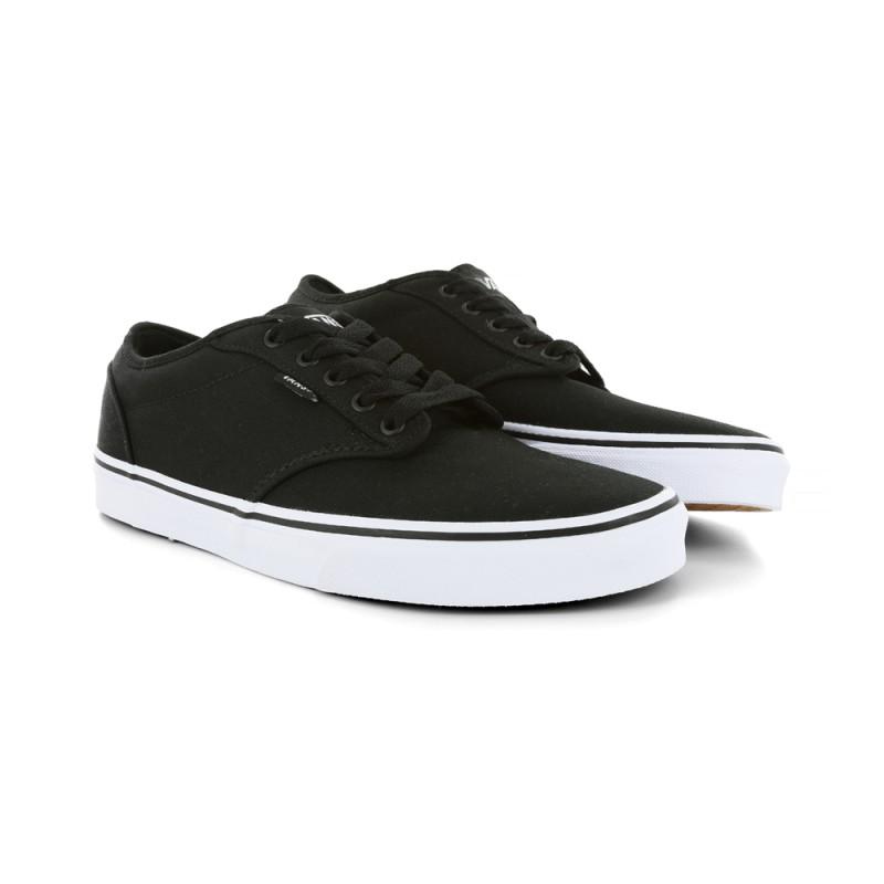 Inicio  Zapatillas Vans Atwood Canvas Black White. 14%descuento 0536425a55b