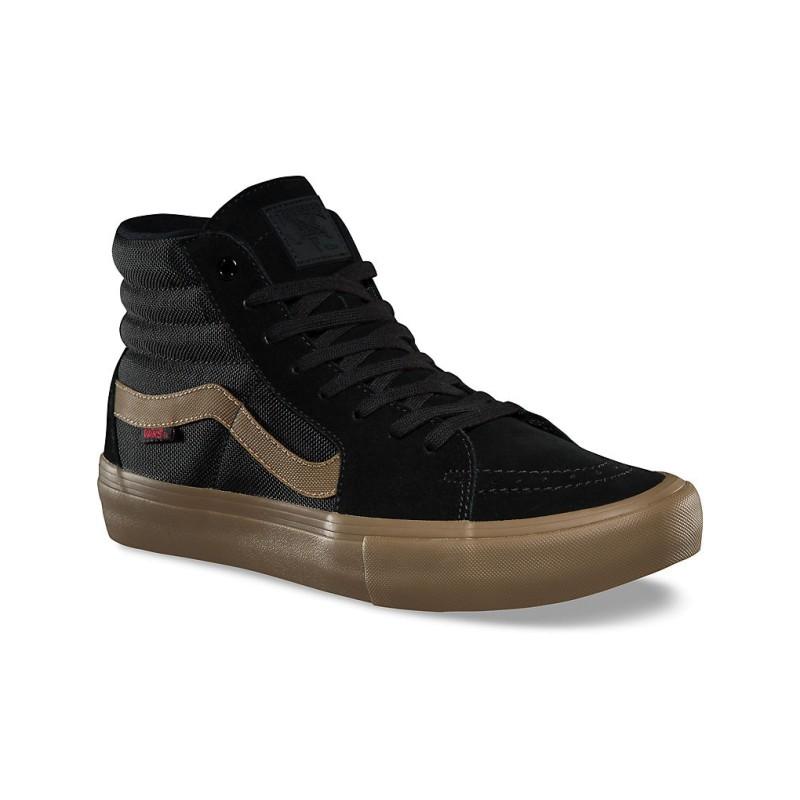 Zapatillas Vans Sk8 Hi Pro X Thrasher Black Gum