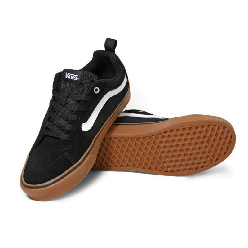 Inicio  Zapatillas Vans Filmore Suede Canvas Black Gum. 13%descuento dbc09ac559a