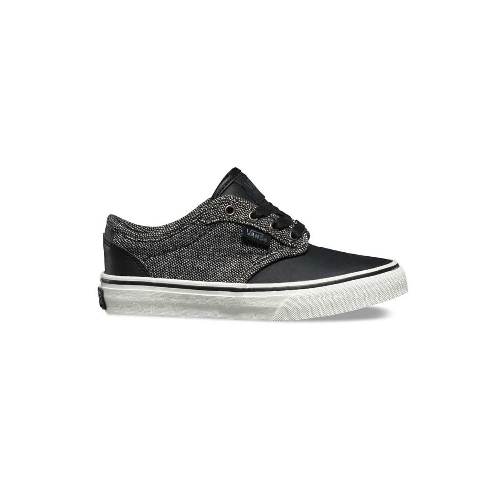 001528ff7b6 Zapatillas Vans Atwood Deluxe Tweed Black Marshmallow