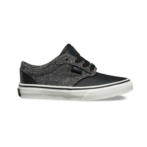 a3309da71 Zapatillas Vans Atwood Deluxe Tweed Black Marshmallow